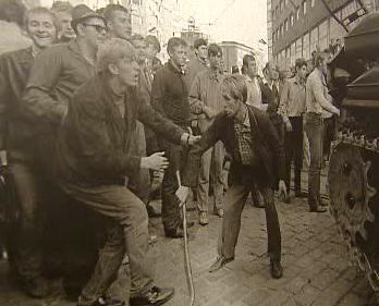 August 1968 v Bratislave