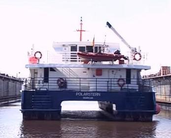 Severka ve svém domovském přístavu