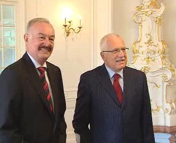 Václav Klaus a Přemysl Sobotka