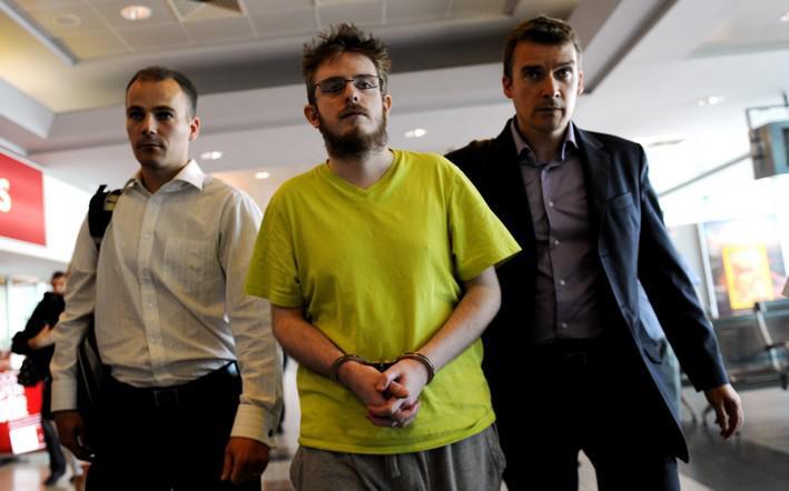 Zadržený Ir Patrick Burnell