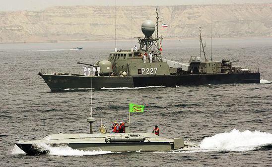 Íránské námořnictvo