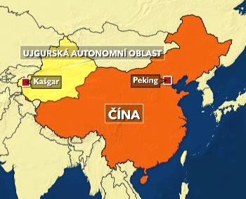 Mapa autonomní oblasti