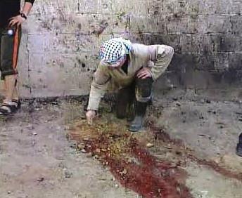 Následky náletu na Gazu