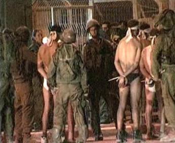Urchlíci před izraelskou hraniční stráží