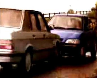 Srážka dvou aut