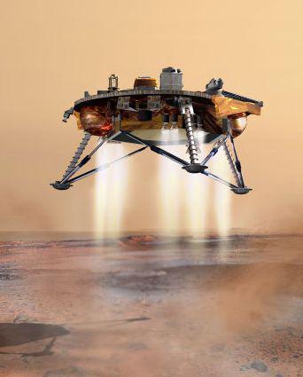 Přistávací modul amerických roverů