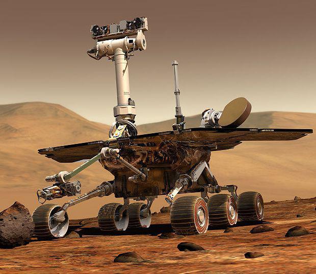 Rover pro výzkum Marsu