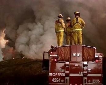 Kalifornští hasiči