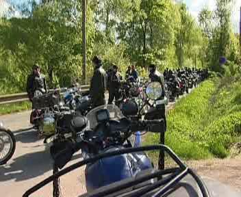 Sraz motorkářů