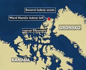 Mapa Arktidy