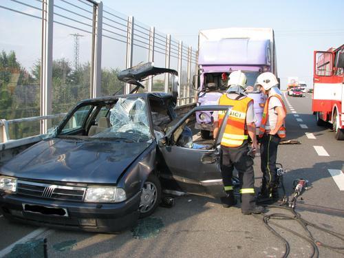Tragická nehoda na dálnici