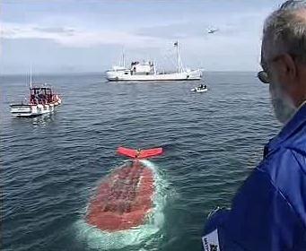 Ponorka na Bajkalu