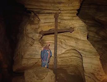 Kaple svatého Vojtěcha v Chýnovské jeskyni