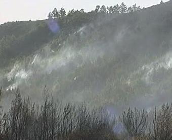 Krajina po požáru