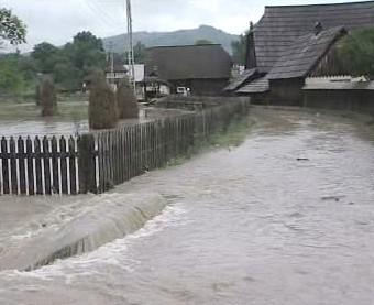Zaplavená vesnice