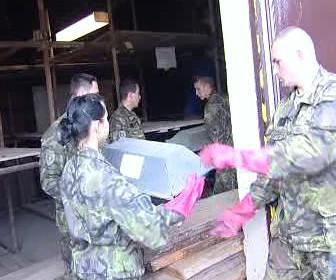 Stěhování ostatků německých vojáků