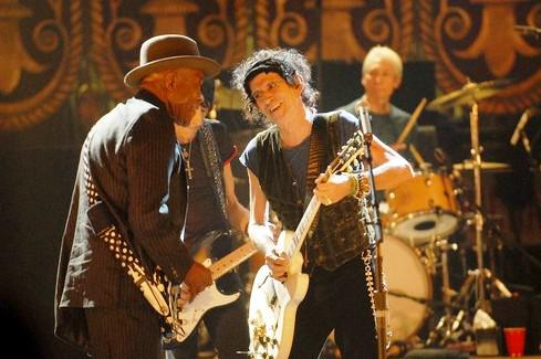 Keith Richards a Buddy Guy