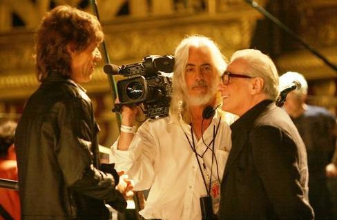 Mick Jagger a Martin Scorsese