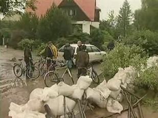 Stavba bariér proti povodním