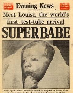 Superdítě Louise Brownová