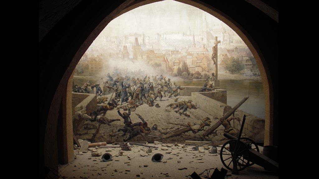 Boj o Karlův most