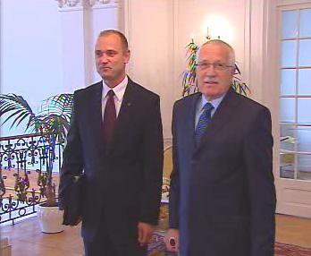 Václav Klaus a Ivan Langer