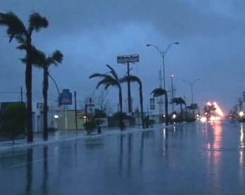 Hurikán v Texasu