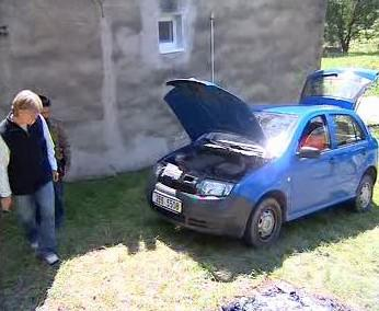 Ukradené auto