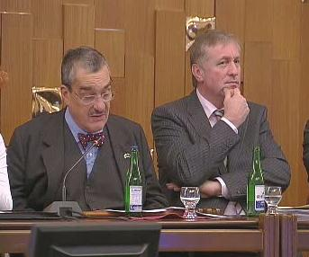 Mirek Topolánek a Karel Schwarzenberg