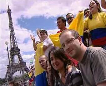 Koncert pod Eiffelovou věží