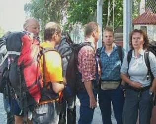 Unesení němečtí horolezci