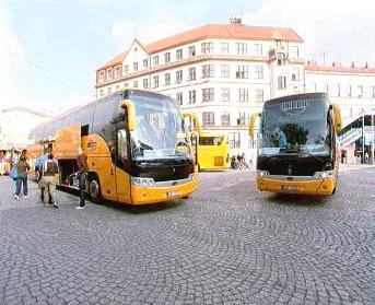 Autobusy společnosti Student Agency