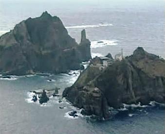 Ostrovy Tokdo/Takešima