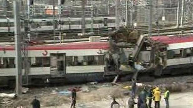 Výbuch ve vlacích v Madridu