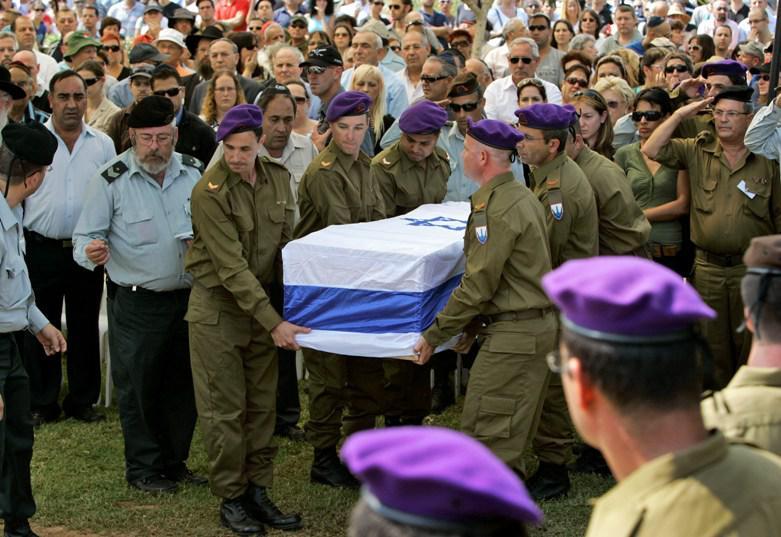 Pohřeb izraelského vojáka