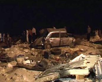 Hromadná autonehoda v Egyptě