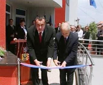 Slavnostní otevření českeho velvyslanectví