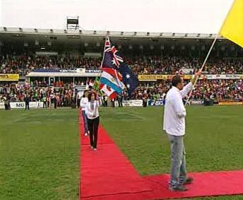 Oslavy na stadionu