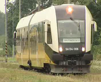Vlak na cestě do Polska
