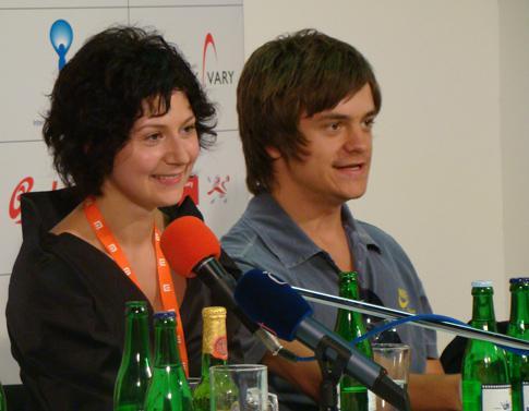 Martha Issová a Jiří Mádl