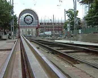 Výstavba nové tramvajové trati