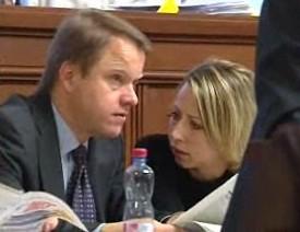 Martin Bursík a Kateřina Jacques