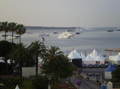 Přístav v Cannes