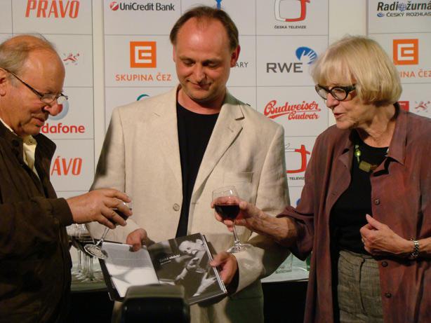 Ivan Passer, Jiří Voráč a Eva Zaoralová