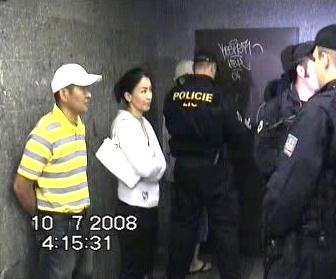 Zátah cizinecké policie