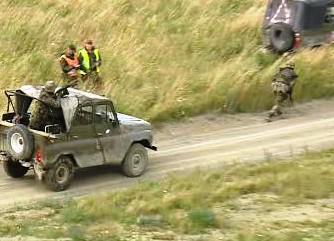 Výcvik českých vojáků v Libavé před odjezdem do Afghánistánu
