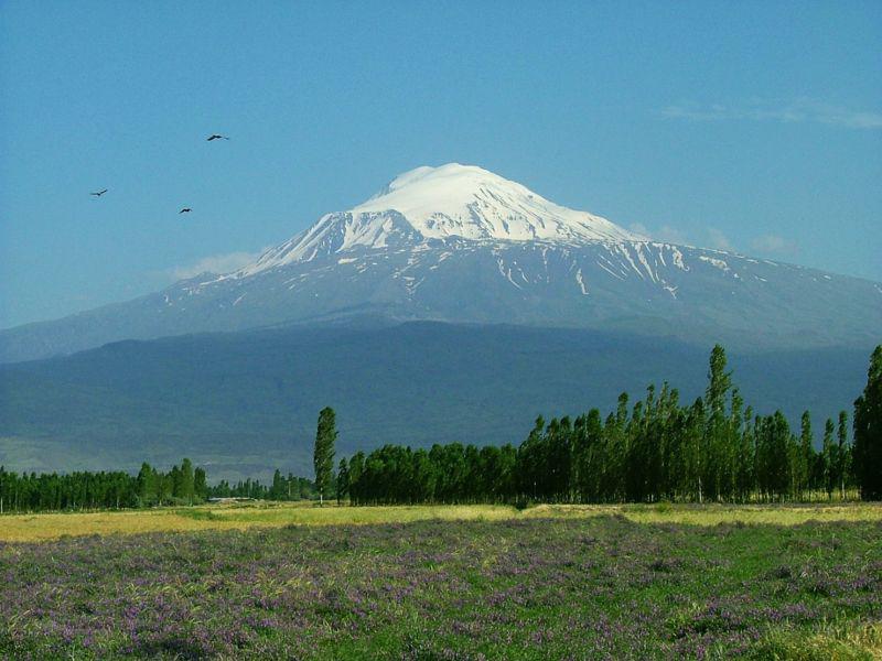 Nejvyšší hora Turecka Ararat