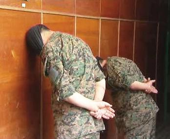 Zadržení gruzínští vojáci