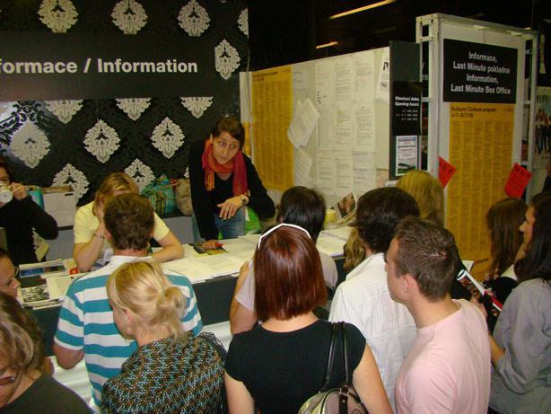 Informace a Last Minute pokladna na MFF Karlovy Vary