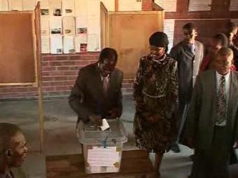 Prezidentské volby v Zimbabwe